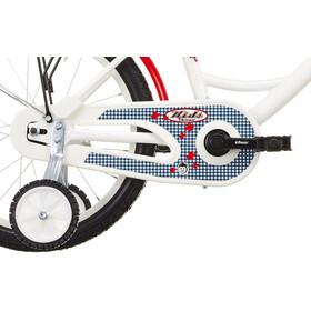 Vermont Karo - Vélo enfant 18 pouces - blanc/rouge